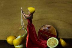 Still Life, Setting the Scene, Lemon